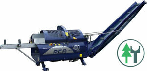 Sägespaltautomat Tajfun RCA400 Joy TG Zapfwellenantrieb Schwenkband