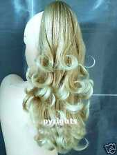 Clip In Pony Tail Hair Extension Draw String Ponytail hair Extension Piece