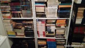 Lote de 1000 libros y novelas de ciencia ficcion, fantasia y terror
