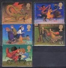 Engeland postfris 1998 MNH 1758-1762 - Kinder Literatuur