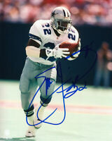 Emmitt Smith Cowboys HOF Signed Autographed 8 x 10 Photo REPRINT