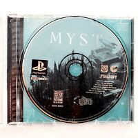 Myst (Sony PlayStation 1) Missing Manual Tested & Works