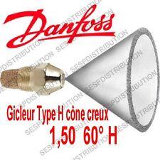 Gicleur DANFOSS H 1,50 60° H  référence 030H6928 nozzle Danfoss H