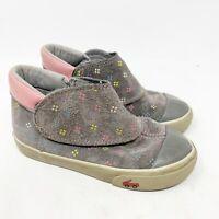 See Kai Run Monroe Sneaker Boot, Gray Suede, Hook & Loop, Size 11