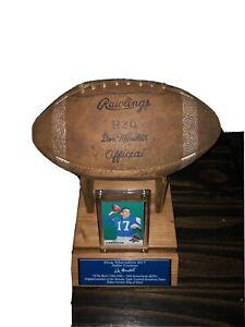 Rawlings Football Don Meredith Dallas Cowboys Vintage Endorsed(display only)