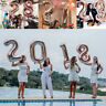 """40"""" Rose Gold Number Large Foil Helium Balloon Wedding Birthday Party Decoration"""