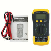 New Electrical LCD Digital Multimeter AC DC Voltmeter Ohmmeter Multitester