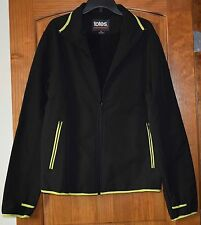 New Mens Totes XXL Jacket Black Full-Zip Fleece Lined Water Resistant $79