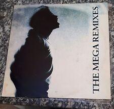 MICHAEL JACKSON - THE MEGA REMIXES 1993 LP BRAZIL ONLY PROMO FREE GIFT CD