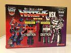 Transformers G1 Worlds Smallest Transformers VSX Optimus Prime Vs. Megatron MISB