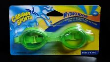 Cabana Sports Hydro Kids Goggles Ages 3-8 Yrs Swimming Adjustable Sport 217