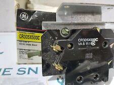GE CR305X500C FOR NEMA SIZE-5 BASIC BLOCK