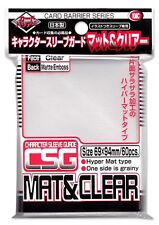 KMC Character Sleeve Guard - Standard Size – MAT & CLEAR (60)