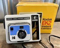KODAK EK2 Vintage Instant Camera With Original Box & Instructions Working Order
