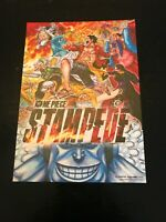 One Piece: Stampede 2019 American Version Mini Movie Poster - Theater Promo Item