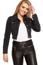 Cappotti e giacche da donna grigia con lunghezza ai fianchi in cotone