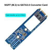 M2 TO SATA M.2 NGFF SATA to 7Pin SATA Converter Adapter Card Horizontal SM