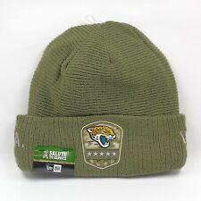 New Era Cap Men's NFL Jacksonville Jaguars Salute To Service Winter Beanie Hat