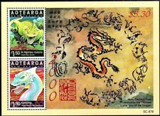 New Zealand 2000, Lunar Year of the Dragon, M/S MNH