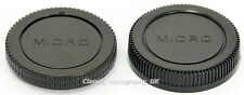 Camera Body & Lens Cap for MICRO 4/3 Sony NEX OLYMPUS PEN E-P5 Panasonic LUMIX