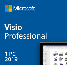 Visio 2019 Professional genuine Product Key Activation License Fast Delivery
