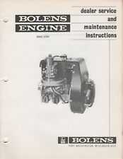 BOLENS SNOWMOBILE ENGINE MODEL 2Z293 DEALERS SERVICE MANUAL (166)