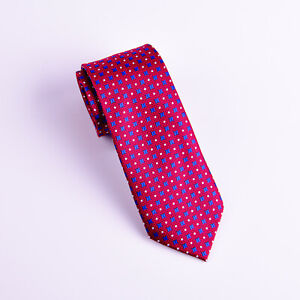 Burgundy With Blue Dot Special Fashionable 7.5CM Business Tie New Arrival