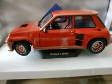 Solido Renault R5 Turbo 1982 1:18 Voiture Miniature
