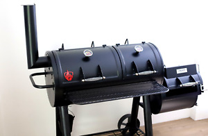 Wildfire Longhorn Offset Competition Smoker