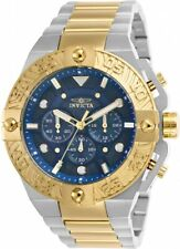Invicta 25845 Pro Diver Men's Chronograph 50mm Two-Tone Blue Dial Watch