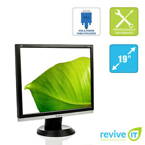 "ViewSonic VA926g 19"" LCD 1280x1024 75Hz 5:4 DVI-D VGA Monitor - Grade B"