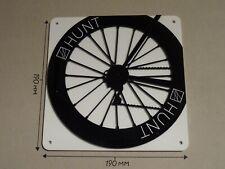 HUNT Cycling Wheel, HUNT rear wheel design - Acrylic Sign: 190x190mm