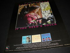 Becky Fender 1980 Promo Poster Ad His Spirit Touches You Through Her Voice
