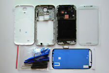 White full housing repair parts front glass frame for samsung galaxy s4 gt-i9505