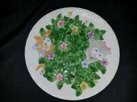 Kitten Capers by Shafford - 1990 Decorative Cat Plate