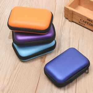 Earbuds Memory Card Case Storage Box Coin Purse Carry Pouch Earphone Bag