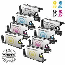 8PK LC75 LC-75 XL Black & Color Printer Ink Cartridge for Brother MFC-J625DW