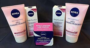 ABOXOV Nivea 24hr Moisture Day & Night Cream Almond Oil SPF15 Dry Sensitive Skin