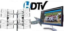 8-BAY MULTI-DIRECTIONAL OUTDOOR HDTV UHF DTV ANTENNA + HD TV SPLITTER 8BAY OTA