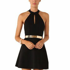 Sexy Casual Summer Black Cocktail Party Evening Sleeveless Lace Short Mini Dress
