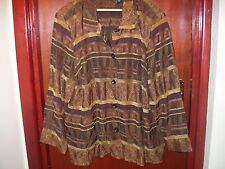 Maggie Barnes delightful ladies occasion jacket size 24 - 26 (56 in chest)