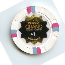 1.00 Casino Chip from the Indiana Grand Casino Shelbyville Indiana