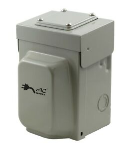 30A 125/250V NEMA L14-30P Inlet Box For Emergency Power by AC WORKS®