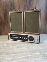 Vintage Miida Electronics M-102 AM/FM 8 Track Stereo Receiver Radio
