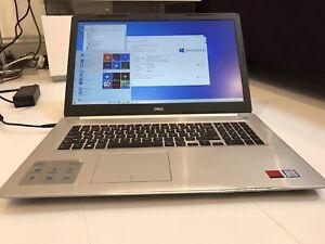 "Dell inspiron 17 5000 Quad Core i5-8250U 12GB 256GB 17.3"" Radeon Gaming Laptop"
