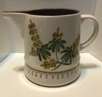 Stangl Pottery Golden Blossom  56 Oz Pitcher Water