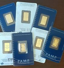 2.5 GRAM PURE .9999 GOLD BAR  - LADY FORTUNA  - OLD STYLE - IN ASSAY. LIMIT ONE