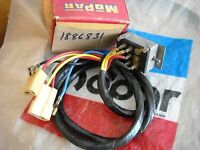NOS MOPAR 1959 PLYMOUTH VARIABLE SPEED WINDSHIELD WIPER SWT & WIRING