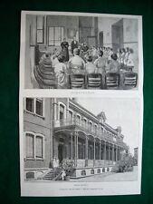 A Milano nel 1895 - L'istituto dei Rachitici