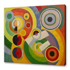 Robert Delaunay Rythme Joie De Vivre Canvas Print Picture Wall Art Free Delivery